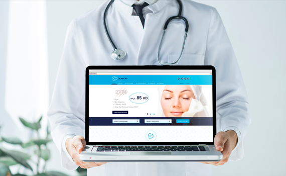 Clinicas Website & Mobile Apps